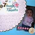 7 things at 7 months